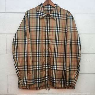 Burberry Nova Check Packable Blouson Jacket