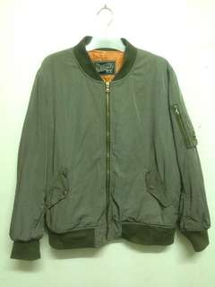 Bomber flight jacket army 22X27 L
