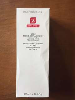 Nutrimetics Ultra Care Body Micro-Dermabrasion