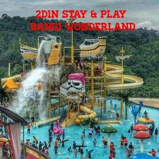 Selangor 2D1N Stay & Play Bangi Wonderland Themeparks