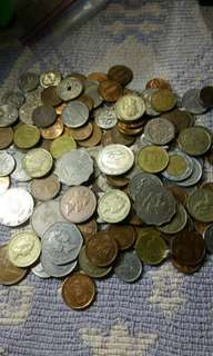 (RUSH) Coins of Various Nationalities