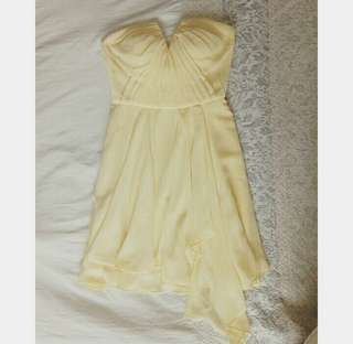 Ever New Yellow Cute Dress
