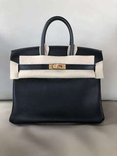 Hermes Birkin25 Swift Ghw 89