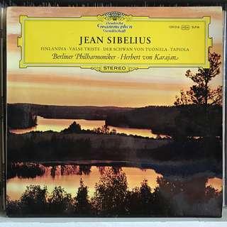 Sibelius Orchestral Music DG SLPM 139016