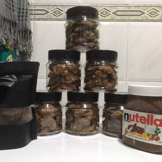 Nuttela Cookies