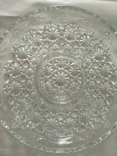 Glass Platter from 60's
