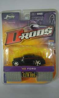Jada Toys 1940 Ford sealed brand-new authentic diecast collector's item