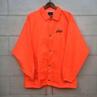 Asics Orange Coach Jacket