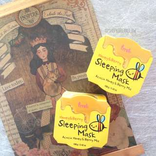 Prreti Honey & Berry Sleeping Mask