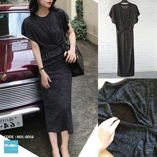 Nursing Long Dress NDL-0056