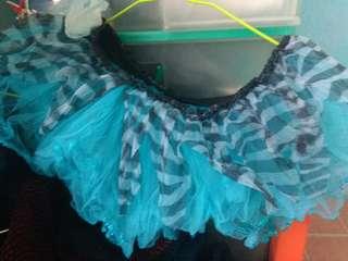 Blue tutu for babies