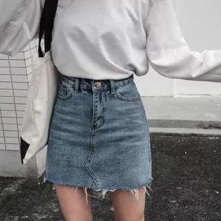 🚚 牛仔半身裙 A字裙