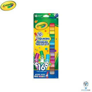 Crayola Pip-Squeaks Markers 16ct | Non-Toxic Washable Markers [CR-588703]
