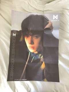 Monsta X Minhyuk Poster
