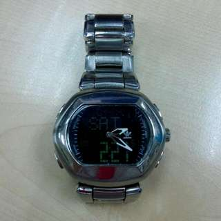Adidas Digital Analog Stainless Steel Watch 1