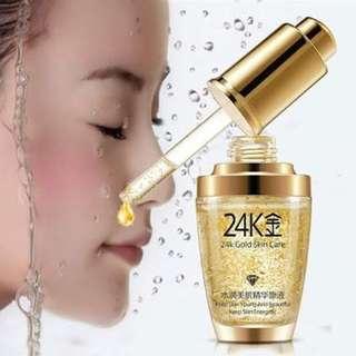 Bioaqua serum wajah 24k gold essence