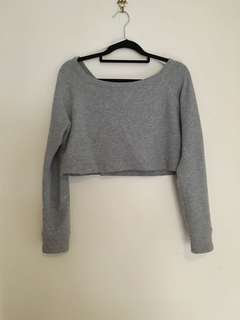 Supre crop sweater