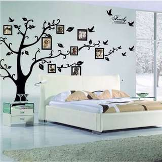 (250X180cm) Large 3D photo tree wall decal sticker