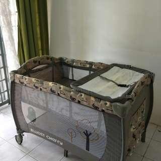 Baby Playpen with mattress