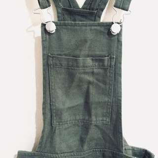 Cotton On Olive Green Overall