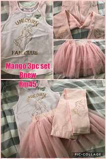 Mango 3 piece set tutu