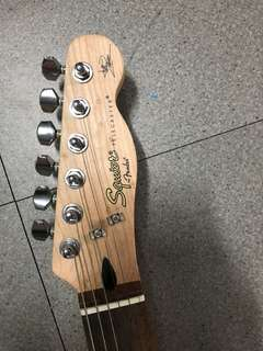 🚚 Squire telecaster  by fender avril lavigne