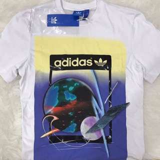 Adidas City Artist Life Tee (White), Authentic