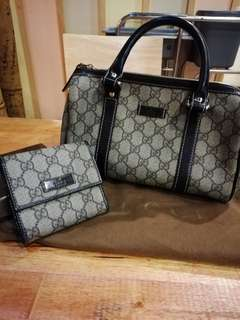 Gucci bags & wallet