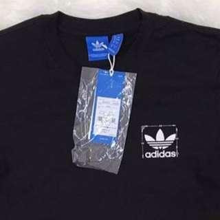 Adidas Trefoil Scaled Tee (Black), Authentic