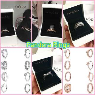 PANDORA RINGS AND EARRINGS FOR SALE RESELLERS ARE WELCOME
