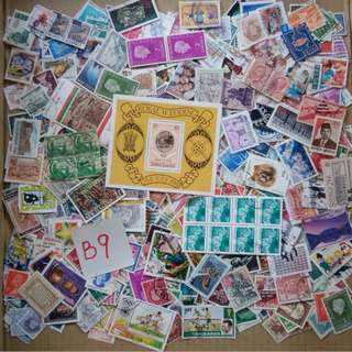 World Mix Stamps 500 pcs lot B9 BL594