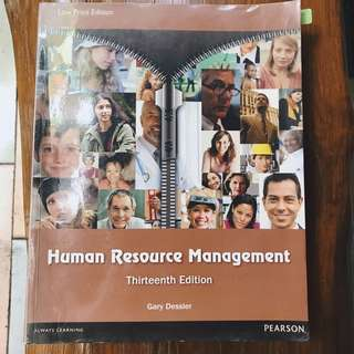 Human Resource Management 13th Ed. by Gary Dessler