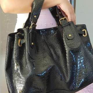 Preloved Black Handbag