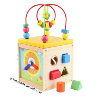 Wooden Toys :Bead Maze & Activity Table