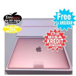 MacBook MNYM2-New 2017 RoseGold Cash/kredit ditoko cepat ktp+kk wa;081905288895