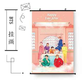 BTS 4TH MUSTER HANGING POSTER