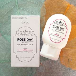 Lala Rose Day All Day Whitening Lotion 60 ml