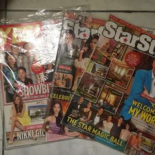 Yes Magazine with KathNiel Articles