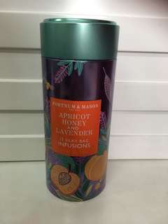 (全新未開封)Fortnum & Mason Apricot Honey and Lavender 15 silky bag infusions