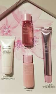 Shiseido White Lucent Trial Set