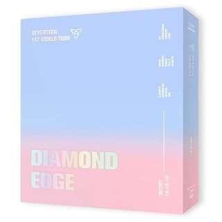 [INSTOCK] SEVENTEEN - 2017 SEVENTEEN 1ST WORLD TOUR (DIAMOND EDGE IN SEOUL) CONCERT DVD⠀
