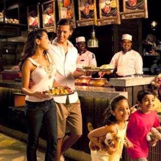 Night Safari Indian Buffet **ADD ON**