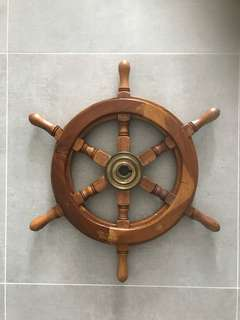 Ship steering wheel design