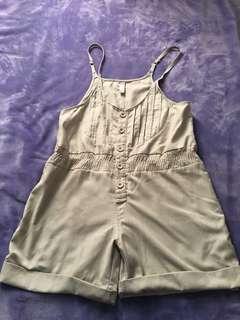 🚚 造型吊帶褲-F