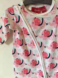 Sprout Baby Sleepsuit