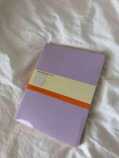 Moleskine lined notebooks