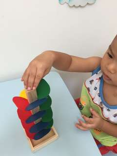 Montessori Gravity Tree Learning