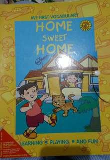 Pustaka Lebah My First Vocabulary Home Sweet Home Book