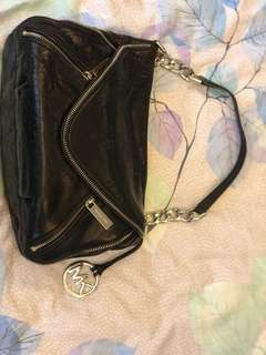 Michael Kors Black Shoulder Bag (Small)