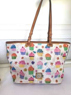 Dooney and Burke Ice Cream Tote Bag